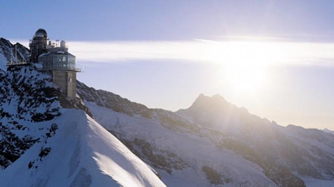 Přírodní parky a památky UNESCO ve Švýcarsku