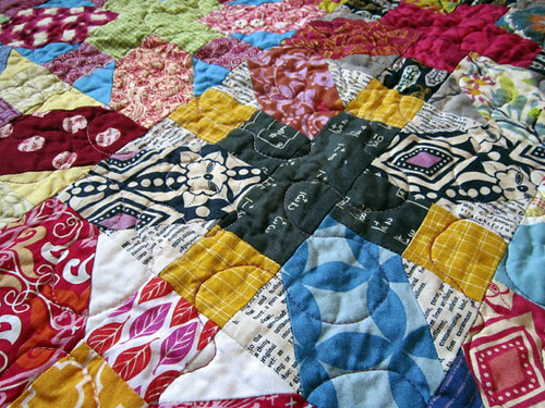 a Quilt with so much clever piecing