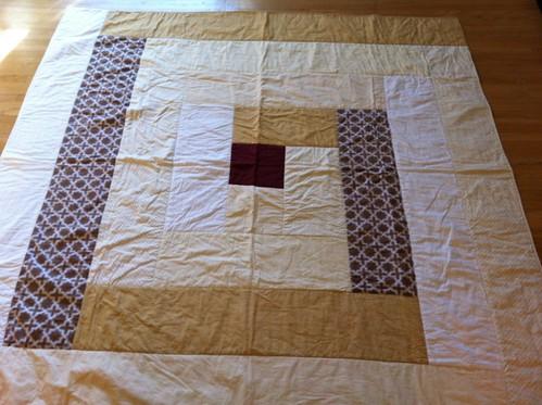 Chuppah quilt