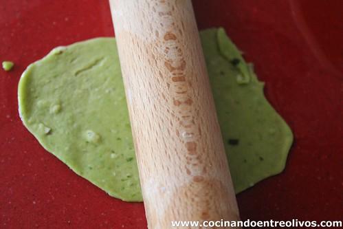 Crema de vigilia y pestiños de espinacas y manchego (14)