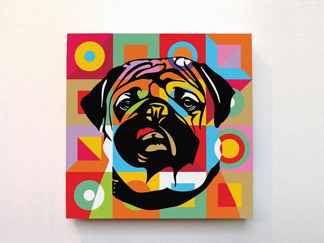 PUGPOP by Lobo - Pop Art