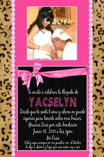 Cheetah Print Baby Shower Theme http://www.flickr.com/photos/poshnchicprints/6882499249/