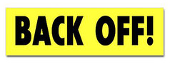 back_off_bumper_bumper_sticker