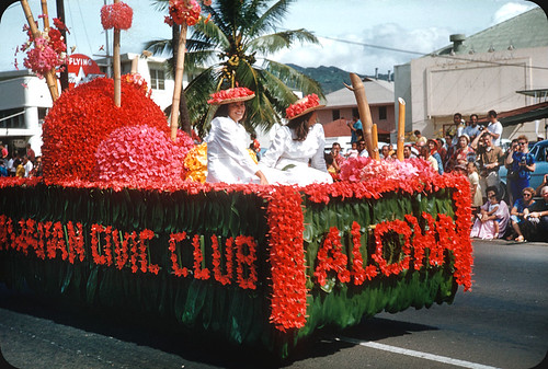 Civic Club, Aloha Week — 1960