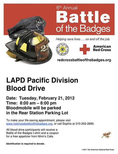 battle of the badges flyer