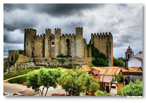 Castelo de Óbidos by VRfoto