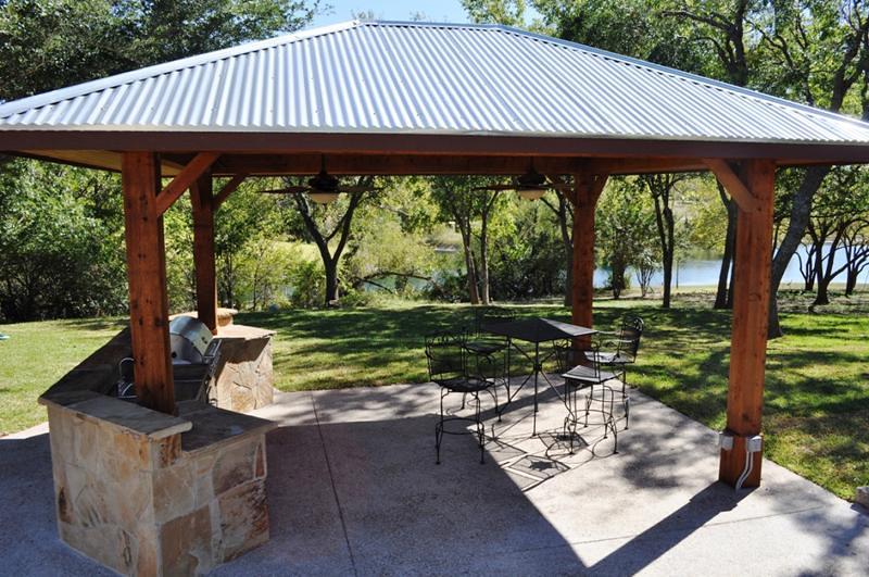 Custom-Outdoor-covered outdoor kitchen   Custom Outdoor ...