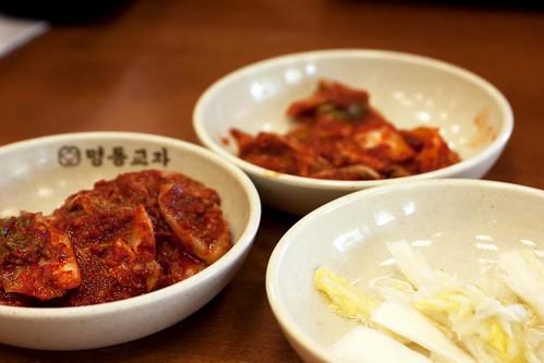 kimchi @ myung dong kyoja