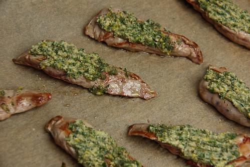 Lammfilets mit Kräuterkruste