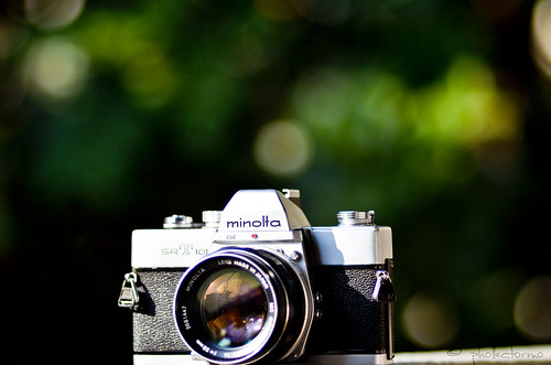 minolta srt 101& minolta rokkor 58mm f:1,4 by phollectormo