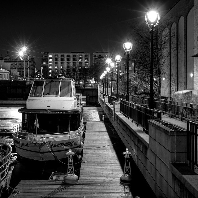 Night, Docked at the River