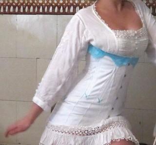 Titanic corset front
