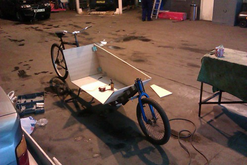 Frankenbike Progress - Building The Box