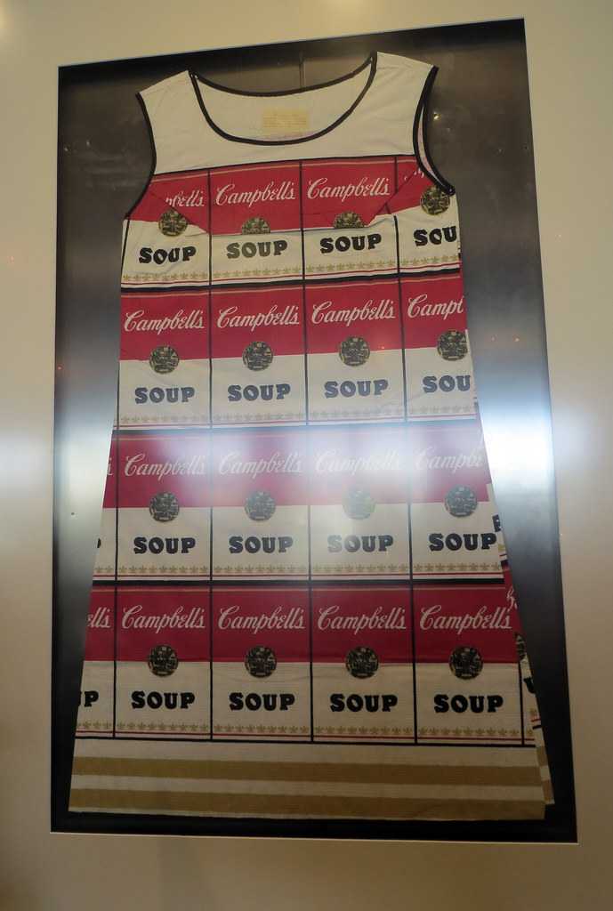 The Souper Dress, A Pop-Art Paper Dress by Campbell's Soup