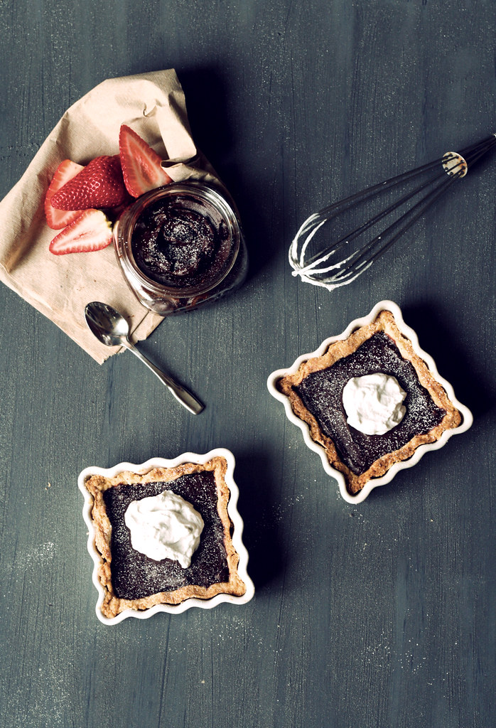 chocolate truffle tarts2