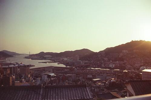 nagasaki skyline.