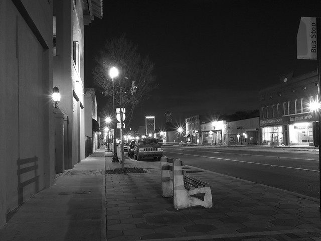 Down on Main Street, Jacksonville, Florida