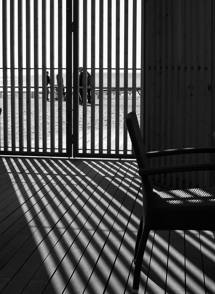 Chair and Stripes