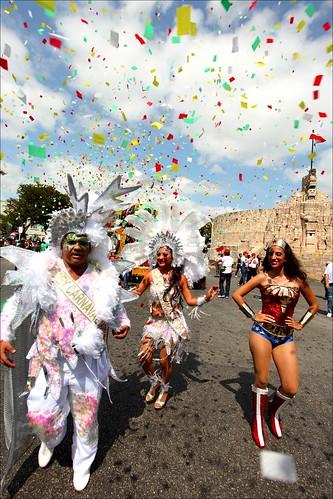 carnaval en Mérida.