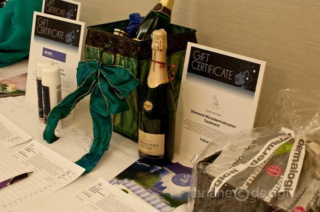FWE Sparkle Gala silent auction