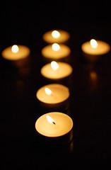 candle, yellow, light, close-up, circle, darkness, lighting,