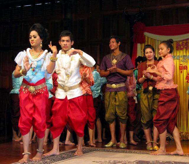 Khmer wedding ceremony at cambodian cultural village siem flickr