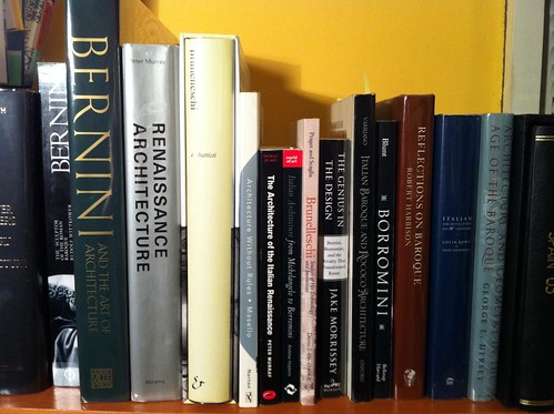 Getting excited about my B reading list by borromini bear
