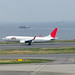 JAL something taking off