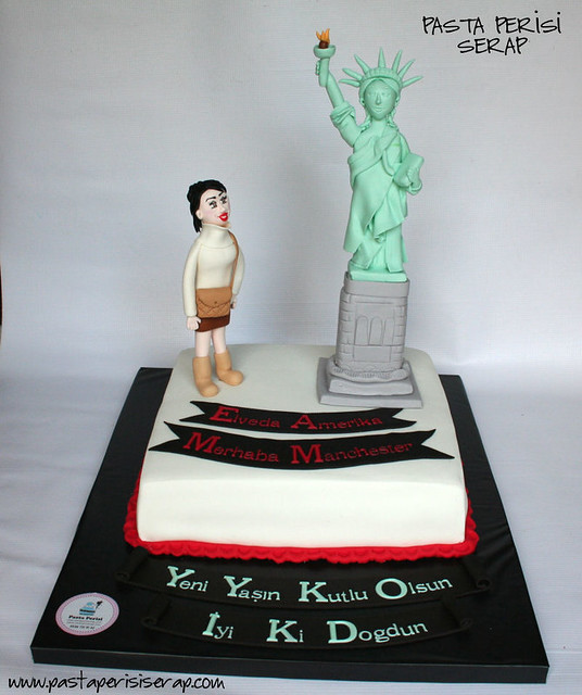 New York - Statue of Liberty Cake