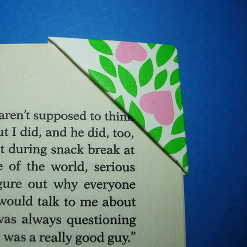 Easy origami bookmark paper kids 13 photos 831 for Simple bookmarks