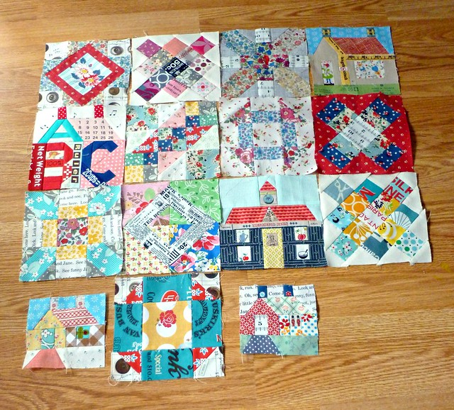 Sampler quilt my blocks so far