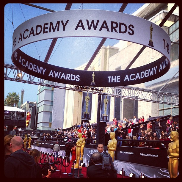 Getting ready for the Academy Awards #oscars
