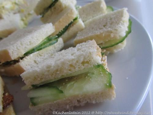 ©Englische Gurkensandwiches