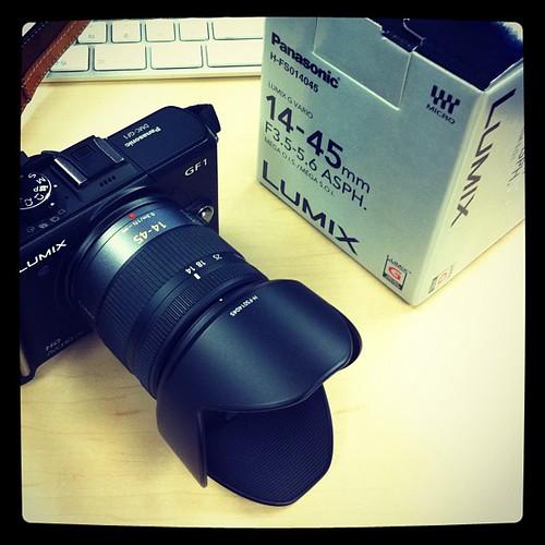 標準レンズ、安く入手しました。 #instagram