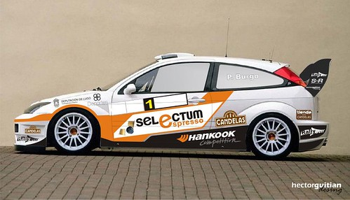 Ford Focus WRC Pedro Burgo 2012