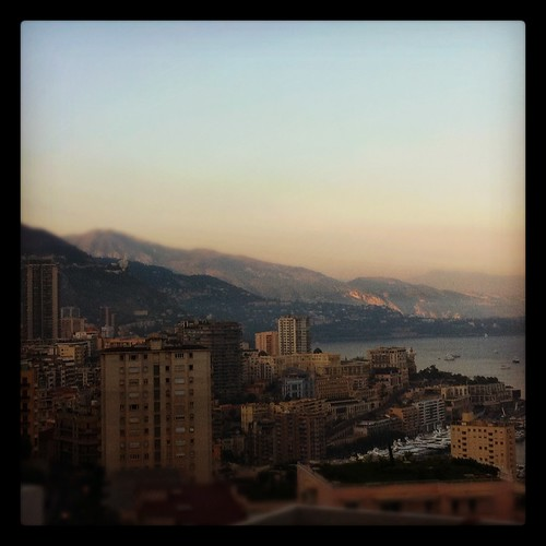 Sunset - Monaco City