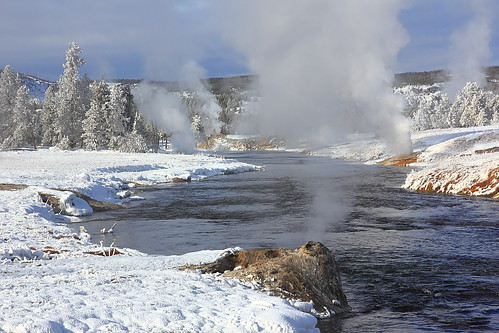 IMG_0615 Firehole River in Winter, Yellowstone National Park by ThorsHammer94539