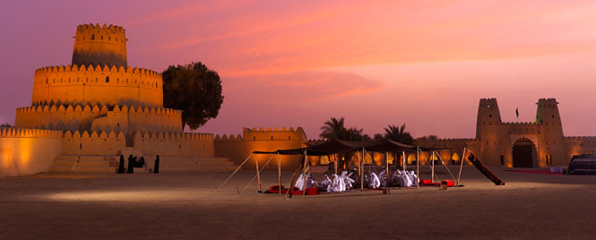 Al-Jahili-Fort-at-sunset