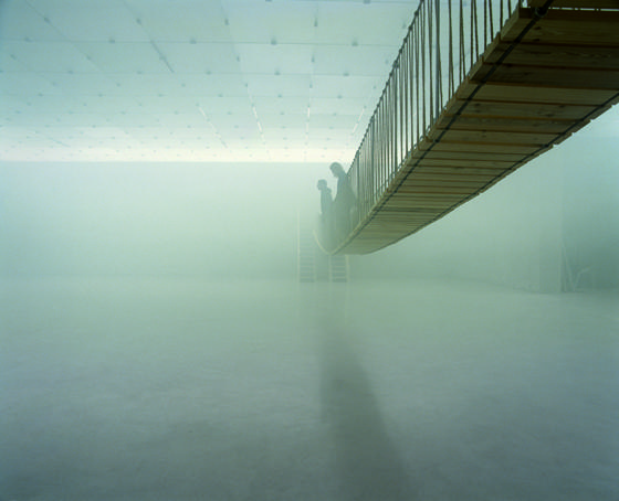 The Mediated Motion. Exhibition in the Kunsthaus Bregenz. Fog. Copyright: Kunsthaus Bregenz, Olafur Eliasson, Verlag Walther König, Markus Tretter