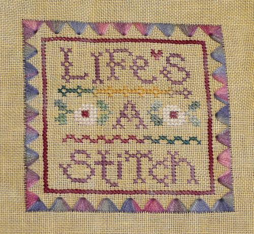life's a stitch 022712