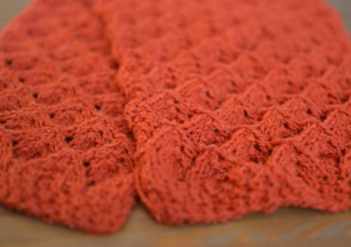 Tangerine sleeves
