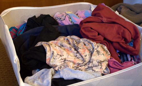 Avoid Clothes That Require Washing Separately (84/365)