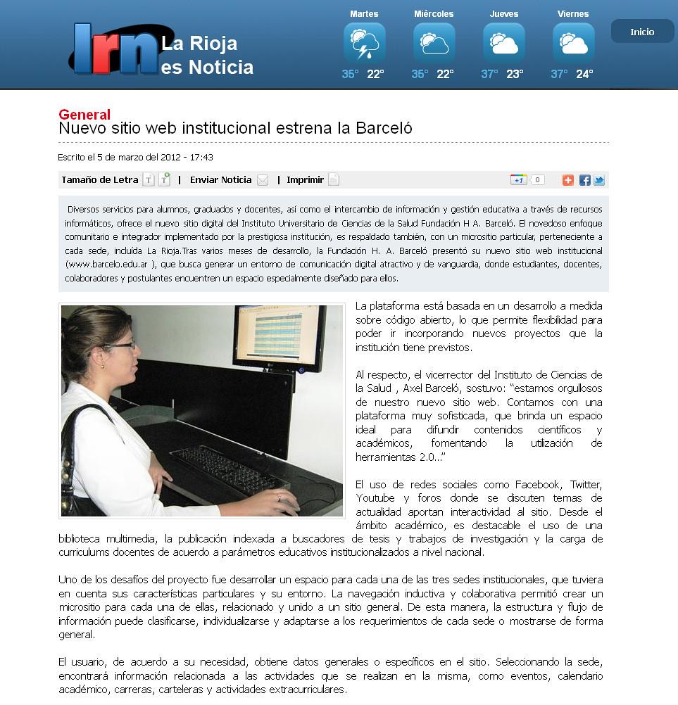 Nuevo Sitio web - LR es noticia - 5.03