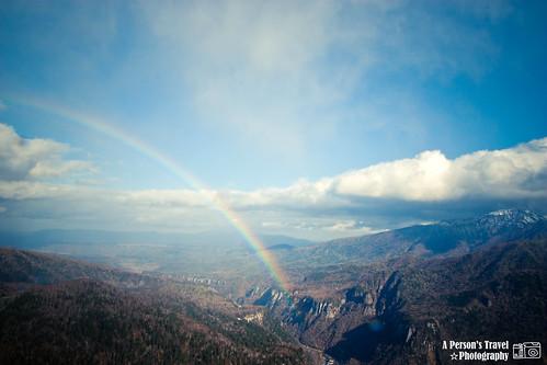 北海道的彩虹 @大雪山國立公園