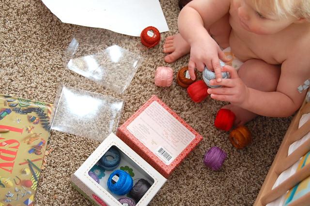 exploring mama's supplies