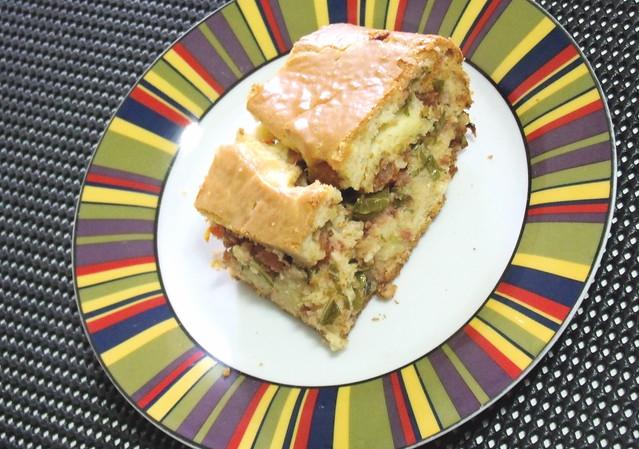Torta de couve e linguiça - Foto de Vanessa de Andrade