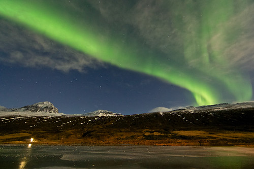 Last night aurora borealis