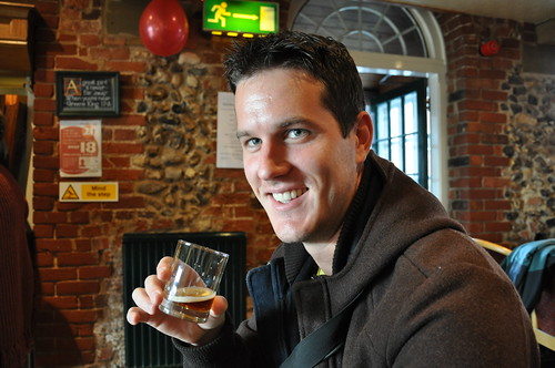 Rob at Greene King Brewery