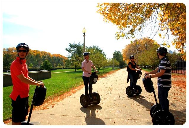 segway tour chicago millennium park