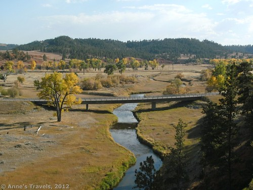 Belle Fourche River from the Red Beds Trail, Devil's Tower National Monument, Wyoming